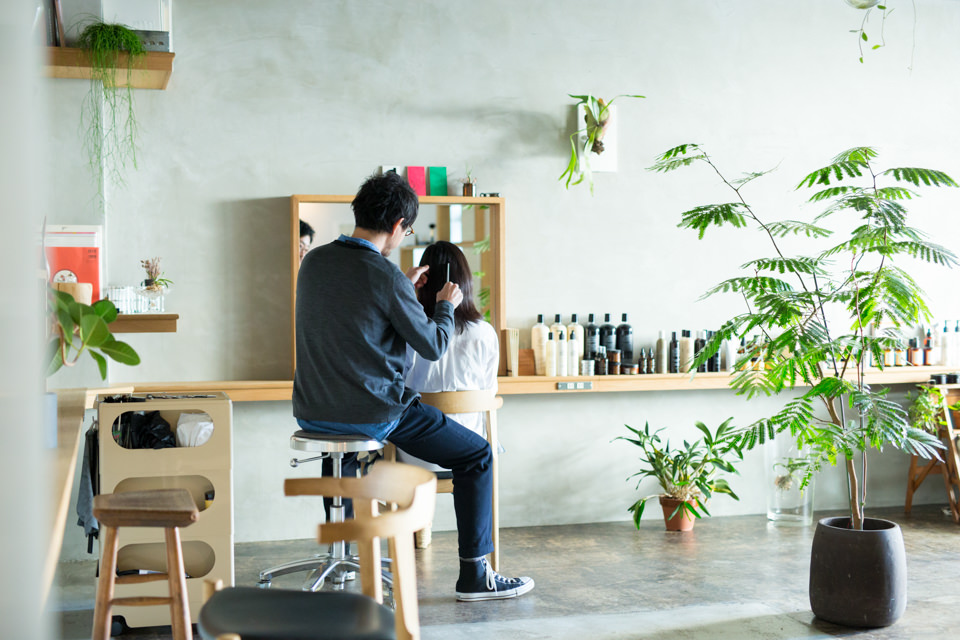 薬院 美容室 &loosen(アンドルーセン) 店内イメージ17